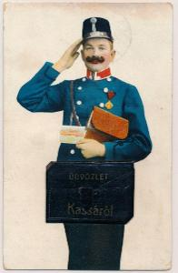 Košice 1914 - leporelo pošťák 10 okénková  , /3753/