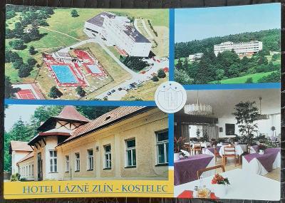 Zlín Hotel Lázně Zlín Kostelec interiér exteriér