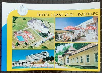 Zlín Hotel Lázně Zlín Kostelec exteriér