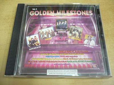 CD Golden Milestones Vol.3 (Dave Dee & Co., Village People...)