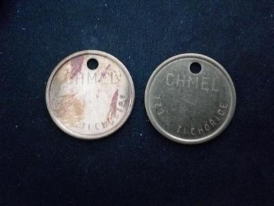 JZD Tuchořice 2 kusy chmelová známka