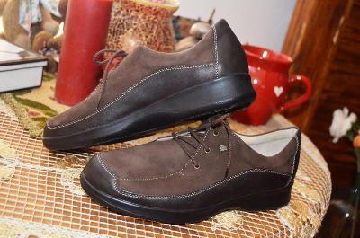 Velice kvalitní volnočasové kožené boty vel. 40
