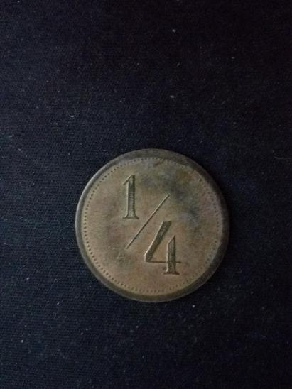 Chmelová známka B.Mach Žatec - Numismatika