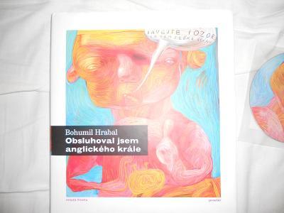 Obsluhoval jsem anglického krále kniha a CD B.Hrabal