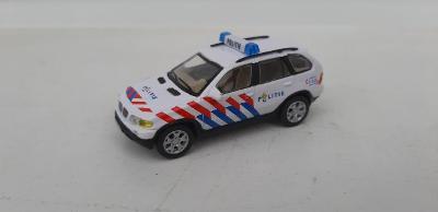 Cararama 1:72, BMW X5, Politie, dovoz Abrex