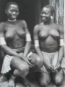 Akty - Policie - Afrika 26 ks 1936 orig. fotopohled / m.f. v krabičce