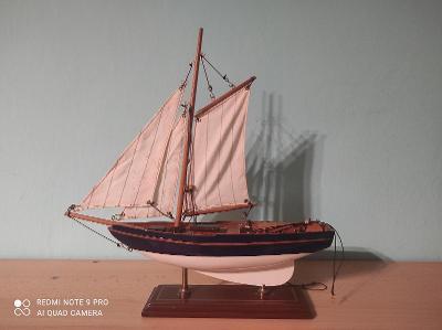 Starý model lodě