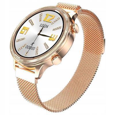 Chytré hodinky Dámské náramkové hodinky SMARTWATCH WATCH MATH
