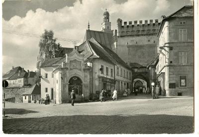 Prachatice-Šumava-Dolní brána-1962