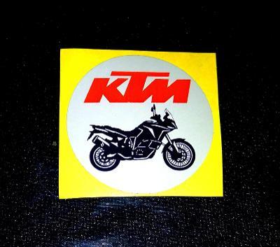 KTM siuleta 1190 adventure (bílá samolepka pr.4), dle foto (1x).