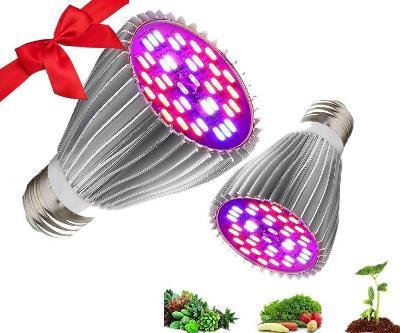 Žárovka pro růst rostlin E27 40x LED 30W