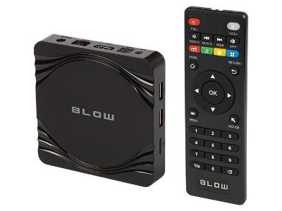 Přehrávač médií Smart TV BLOW Android 4K