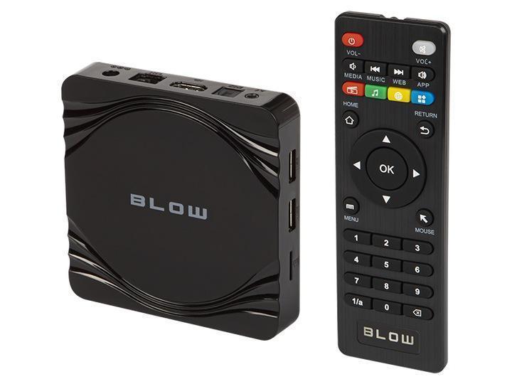 Přehrávač médií Smart TV BLOW Android 4K - TV, audio, video
