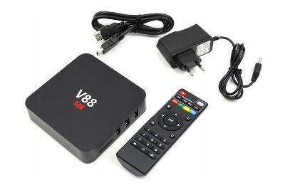 SMART TV BOX 1 / 8GB V88 4K ANDROID 5.1 DEKODÉR