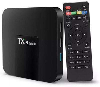 SMART TV BOX TX3 MINI 1 / 8GB ANDROID 7.1 4K KODI