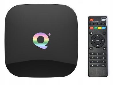 SMART TV Q PLUS TV BOX WIFI HDMI 4/32 ANDROID 8.1