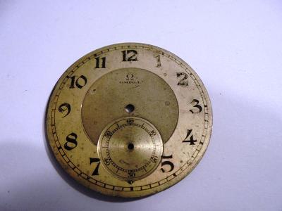 Ciferník kapesních hodinek Omega - KP106