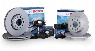 Brzdové kotouče BOSCH a destičky přední+zadni VW PASSAT B6 B7 312mm