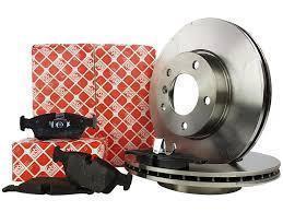 Brzdové kotouče FEBI a destičky přední AUDI A8 D3 4E 360mm PHAETON