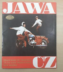 JAWA ČZ - Trade mark of tradition up-to-date production new model RARE