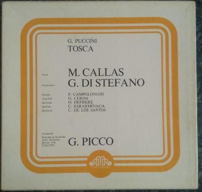 2xLP Puccini, Callas, Di Stefano, Picco - Tosca