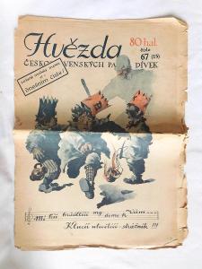 Hvězda československých paní a dívek číslo 67, rok 1927