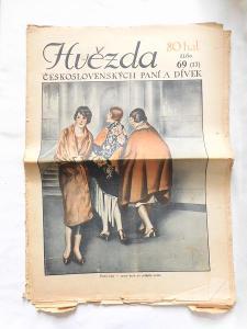 Hvězda československých paní a dívek číslo 69, rok 1927