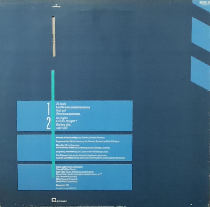 LP 10 CC-WINDOWS  IN THE JUNGLE - Hudba