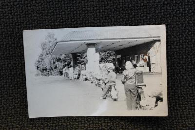 Stará fotografie - Motocykly Jawa benzínka