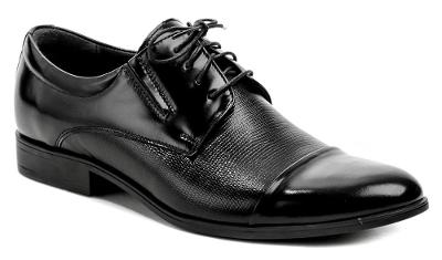 pánské společenské boty Wawel TA5278/P4 černá,  vel.40, NOVÉ
