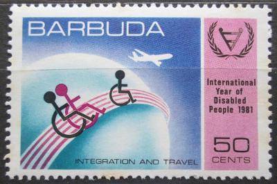 Barbuda 1981 Mezinárodní rok postižených Mi# 572 0161