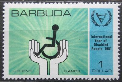 Barbuda 1981 Mezinárodní rok postižených Mi# 574 0162