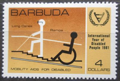 Barbuda 1981 Mezinárodní rok postižených Mi# 575 0162