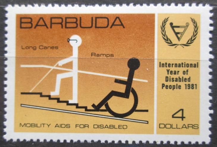 Barbuda 1981 Mezinárodní rok postižených Mi# 575 0162 - Filatelie