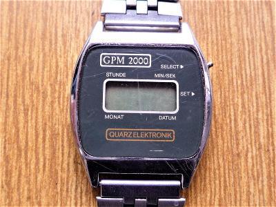 Náramkové hodinky GPM 2000 quartz #424-49