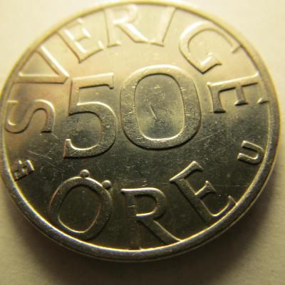 Švedsko - 50 Ore 1984 - kral Karl XVI Gustaf