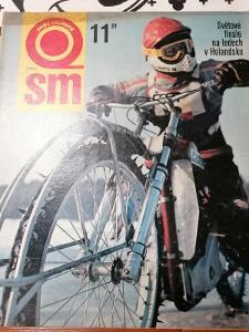 Časopis Svět Motorů 1981 č 11,Aro 243 D