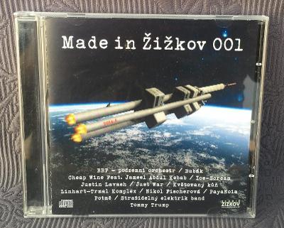 CD - Made in Žižkov  001 ( 2015 ) ,CD V PĚKNÉM STAVU