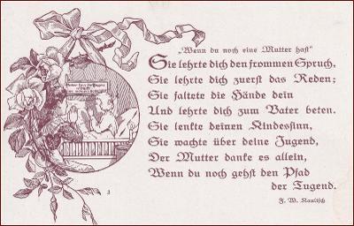 Žena * matka, děti, modlitba, báseň, gratulační * M6127