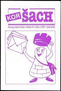 časopis Korespondenční šach ročník VII 1997 - 6 čísel