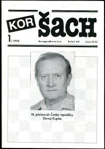 časopis Korespondenční šach ročník VIII 1998 - 6 čísel
