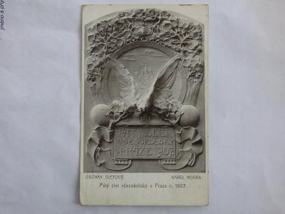 Slet Praha 1907, mf, neprošlá