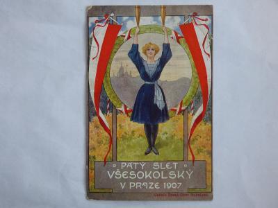 1907-slet sokolský, mf, neprošlá