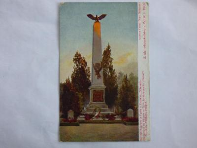 Slet sokolský 1907- Praha, mf, neprošlá