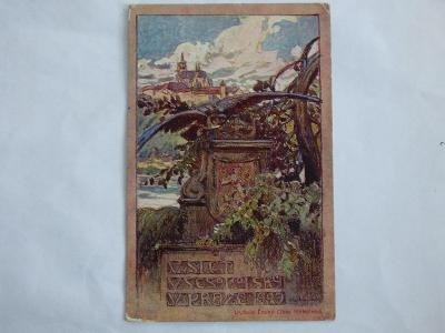 Sokolský slet, Praha 1907, mf, neprošlá
