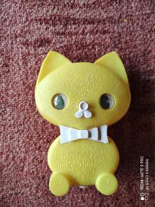 Retro pískací hračka Kočka