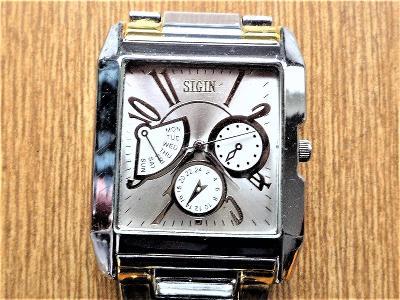 Náramkové hodinky SIGIN quartz #427-46