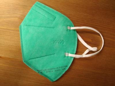 Respirátor KN95 sada 3ks zelený