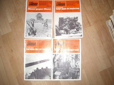 Německé časopisy DER LANDSER- waffen ss aj. 4KS!!!!!!!!!!!