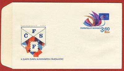 Československo Obálka - Filatelistické sjezdy 1974